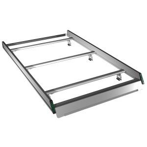 Galerie Ford Custom L2H2 - Portes Battantes - Aluminium